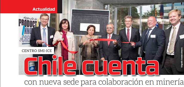 Centro SMI-ICE-Chile cuenta con nueva sede para la colaboración en minería