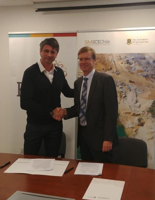 SMI-ICE-Chile y el Instituto Milenio de Neurociencia Biomédica firman convenio de investigación aplicada a la minería
